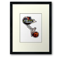 Miley Cyrus - Dr Robotnic's Wrecking Ball Framed Print