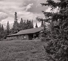 Jenny Lake Lodge Toned I by Brenton Cooper