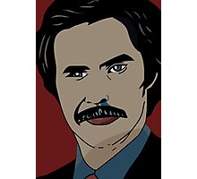 Anchorman 2 - Ron Burgundy  Photographic Print