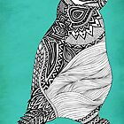 Tribal Penguin by Pom Graphic Design