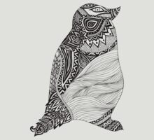 Tribal Penguin T-Shirt