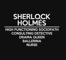 Sherlock Holmes /on dark colours/ by SallySparrowFTW