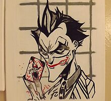 Joker by blackknightart1
