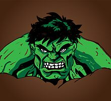Scribble Hulk by martyrbanana