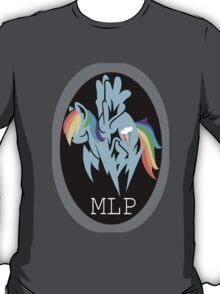 Rainbow Dash/ Shadow Fox: MGS-MLP Crossover T-Shirt