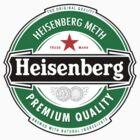 Heisenberg Beer Label by Six 3