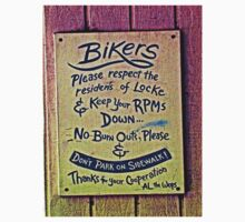 A Note to Bikers from Al The Wop by Joseph  Coulombe