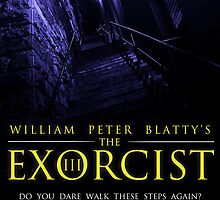 The Exorcist III (Poster 2 Blue) by Kaari