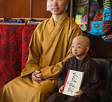 Guiness Record Vietnamese Monks by heatherfriedman