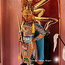 Cao Dai Statue, Vietnam by Geoffrey Higges