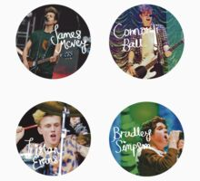 The Vamps - Band Members by Qistina Iskandar