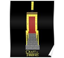 Craft of Thrones Poster