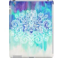 Indigo & Aqua Abstract iPad Case/Skin