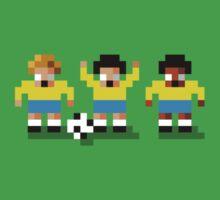 "Sensi Tee: Brazil: ""Canarinho"" (""Little Canary"") Kids Clothes"