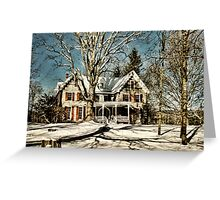 Manville Wakefield Home Greeting Card