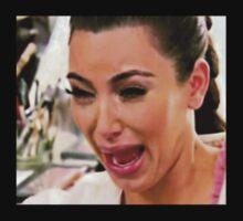 Crying Kim Kardashian by sherinaidnani