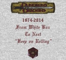 "Dungeons & Dragons ""Keep On Rolling"" by Marjuned"