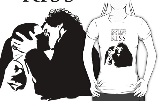 Sherlock and Molly Kiss by saniday