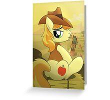 Braeburn Shirt (My Little Pony: Friendship is Magic) Greeting Card
