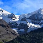 Mt Charlton and Mt Unwin by Charles Kosina