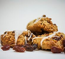 Oatmeal Raisin Cookies by Tara Brandau