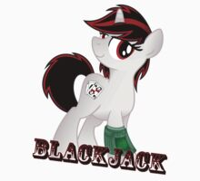 Blackjack T-shirt (from the Project Horizons fanfic) Kids Clothes