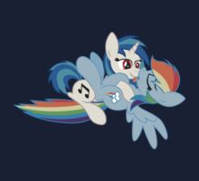 Vinyl Scratch x Rainbow Dash by broniesunite