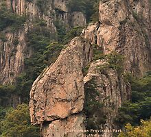 Daedunsan Provincial Park, South Korea by Geoffrey Higges