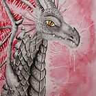 Watercolour Dragon by Maddy Storm