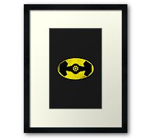 The Darth Knight Framed Print