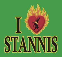 I Heart Stannis Kids Clothes