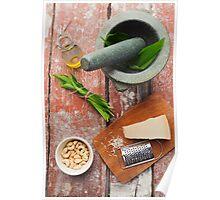 Wild garlic pesto Poster