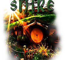 Shire-Hobbiton-The Lord of the Rings by augustinet
