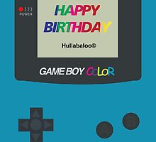 Gameboy Color Birthday Card by jeice27