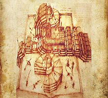 Da Vinci's Time Machine by smute20