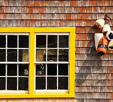Window at Peggy's Cove by Robert Kelch, M.D.