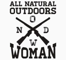 All Natural Outdoors Woman by printproxy