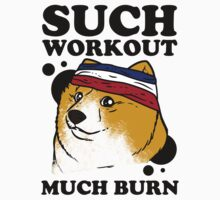 Such Workout, Much Burn - Doge The Dog Workout Shirt by printproxy