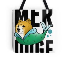 Mer Doge - Mermaid Inspired By Doge The Dog Shirt Tote Bag