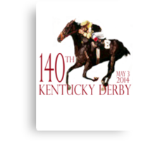 Kentucky Derby 2014 Canvas Print