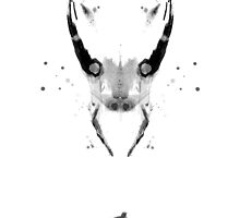 The Avengers: Loki Helmet Rorshach by John Glynn