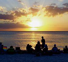 Sunset on the Ocean by LoreleiLuna