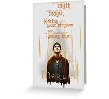 Merlin: Myth and Magic Greeting Card
