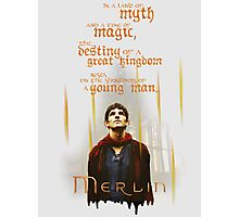 Merlin: Myth and Magic Photographic Print