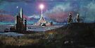 Rocket Base Night by Siegeworks .