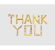 Merlin: Thank You Photographic Print