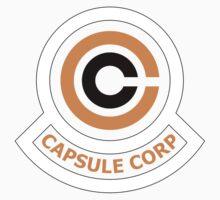 Capsule Corporation Orange Logo (Dragonball Z, Large) by Larsonary
