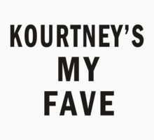 Kourtney's my fave by Saraalshker