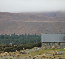 Church of the good Shepard  by Louise Pryde