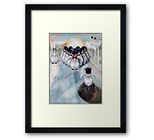 Ice Bowl Framed Print